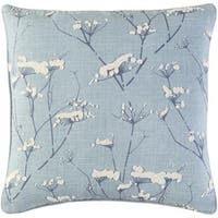 Decorative Pipa 18-Inch Feather Down or Poly Filled Throw Pillow