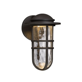 WAC Lighting Steampunk Aluminum 13-inch LED Wall Light