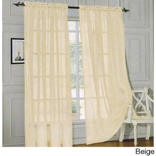 Sheer Curtains beige sheer curtains : White Sheer Curtains - Shop The Best Deals For Apr 2017