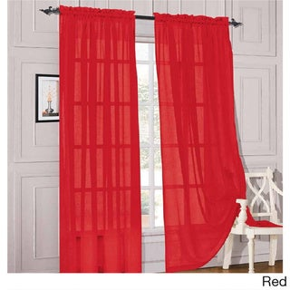 Red Sheer Curtains - Shop The Best Deals For Apr 2017