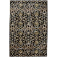 "Mohawk Home Savannah Ellis Blue Slate Area Rug - 9'6"" x 12'11"""