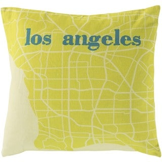 Decorative Oyonnax 18-Inch Down or Poly Filled Throw Pillow