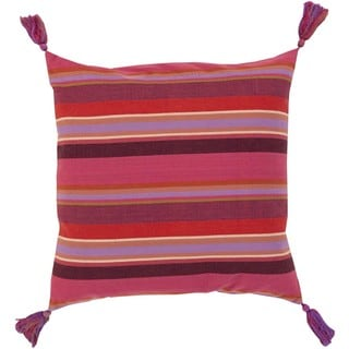 Decorative Oullins 18-Inch Down or Poly Filled Throw Pillow
