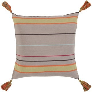 Decorative Otle 18-Inch Down or Poly Filled Throw Pillow