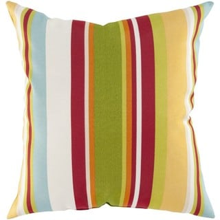 Decorative Alexis 18-Inch Down or Poly Filled Throw Pillow