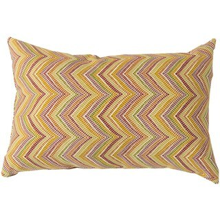 Decorative Orly Down or Poly Filled Throw Pillow (13 x 20)