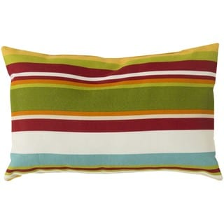 Decorative Alexis Down or Poly Filled Throw Pillow (13 x 20)