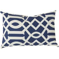 Decorative Orlando Feather Down or Poly Filled Throw Pillow (13 x 20)