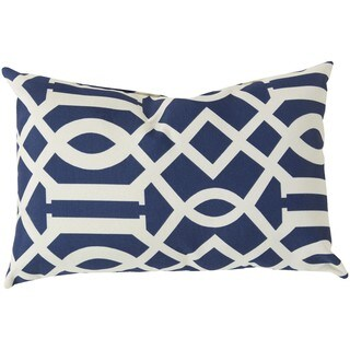 Decorative Orlando Down or Poly Filled Throw Pillow (13 x 20)
