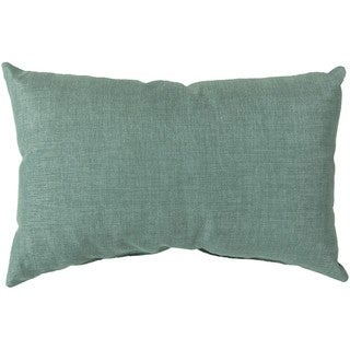 Decorative Orange Feather Down or Poly Filled Throw Pillow (13 x 20)