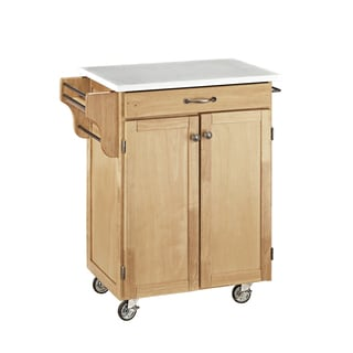 Cuisine Cart in Natural Finish by Home Styles