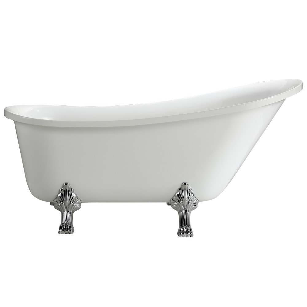 Vinnova Jacqueline Freestanding Bathtub 70 in x 30 in (70...