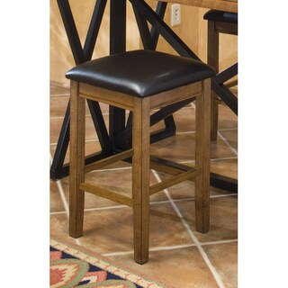 Siena Counter Height Backless Padded Barstool-set of 2