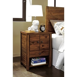 Signature Design by Ashley Fennison Light Brown Night Stand