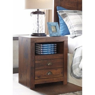 Signature Design by Ashley Hammerstead Brown One Drawer Night Stand