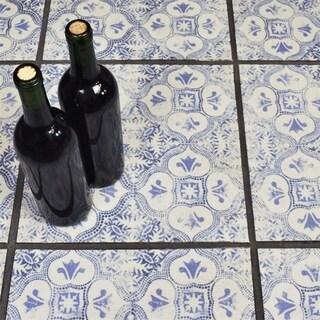 SomerTile 12.75x12.75-inch Clinker Alcazar Helios Quarry Floor and Wall Tile (6 tiles/7.04 sqft.)