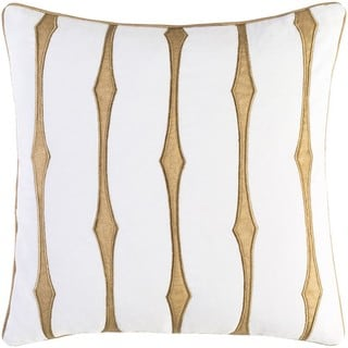 Decorative Pool 22-Inch Feather Down or Poly Filled Throw Pillow