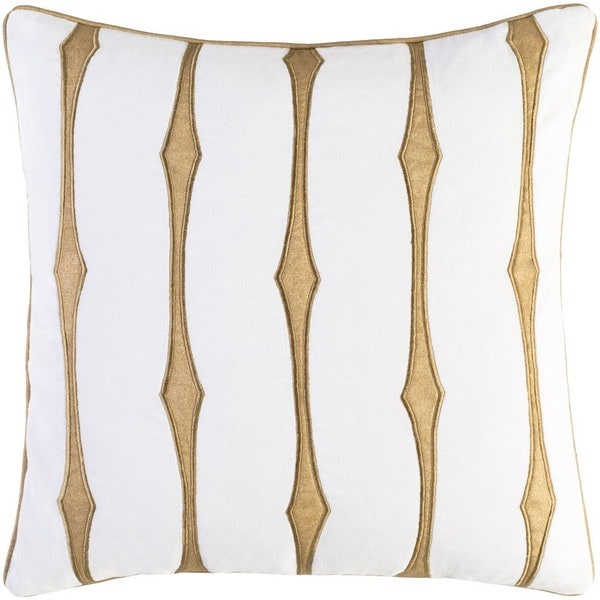 Decorative Pool 22-Inch Feather Down or Poly Filled Throw Pillow. Opens flyout.
