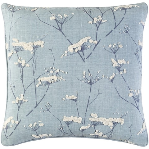 Decorative Pipa 22-Inch Feather Down or Poly Filled Throw Pillow