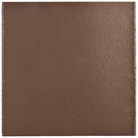 SomerTile 5.875x5.875-inch Clinker Flame Red Quarry Floor and Wall Tile