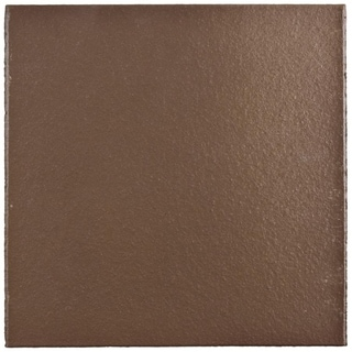 SomerTile 5.875x5.875-inch Clinker Flame Red Quarry Floor and Wall Tile (23/Case, 6 sqft.)