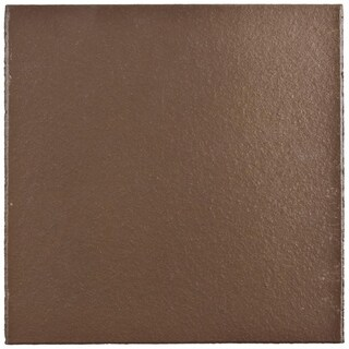 SomerTile 5.875x5.875-inch Clinker Flame Red Quarry Floor and Wall Tile (23 tiles/6 sqft.)
