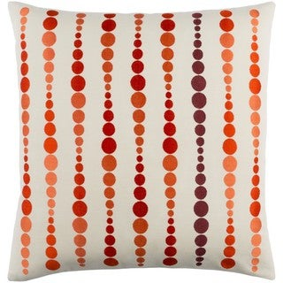 Decorative Petersham 22-Inch Feather Down or Poly Filled Throw Pillow