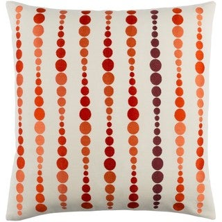 Decorative Petersham 22-Inch Down or Poly Filled Throw Pillow
