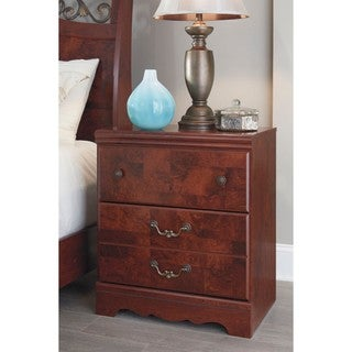 Signature Design by Ashley Delianna Reddish Brown Two Drawer Night Stand