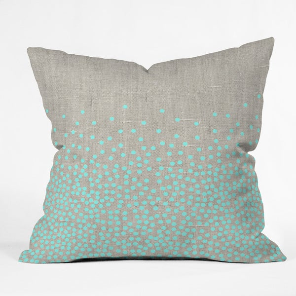 Iveta Abolina Hint of Mint 3 Sizes Throw Pillow
