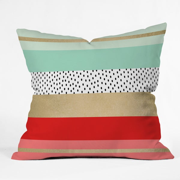 Elisabeth Fredriksson Summer Fresh Throw Pillow