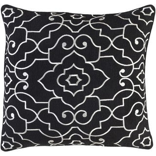 Decorative Perpignan 22-Inch Feather Down or Poly Filled Throw Pillow