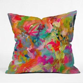 Stephanie Corfee 'That's Hot' Rainbow Throw Pillow