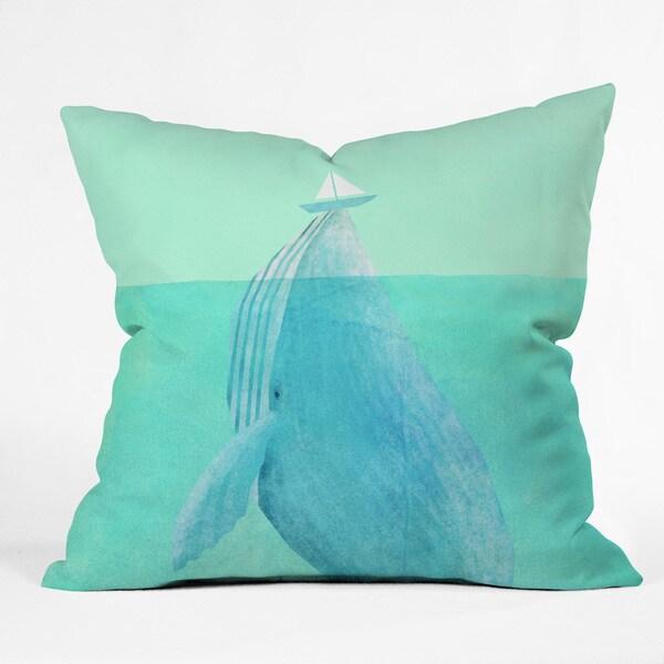 Eric Fan Lift Polyester Throw Pillow
