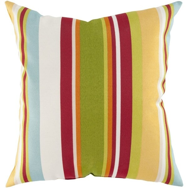 Decorative Alexis 22-Inch Feather Down or Poly Filled Throw Pillow