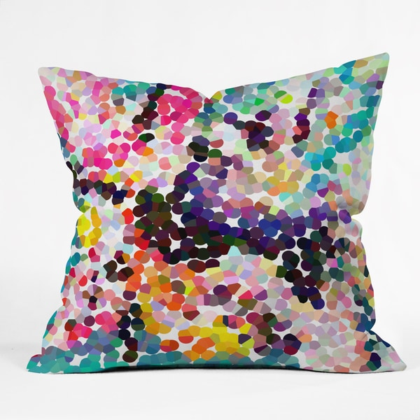 Deny Designs Three Of The Possessed Autumn 1981 Throw Pillow