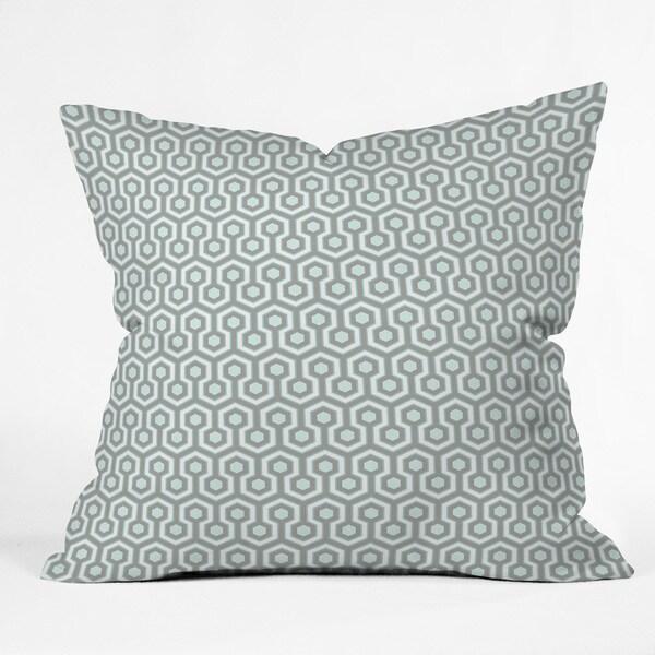 Deny Designs Caroline Okun Icicle Polyester Mini Throw Pillow