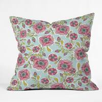 Cori Dantini Blooming Blossoms 3 Sizes Throw Pillow