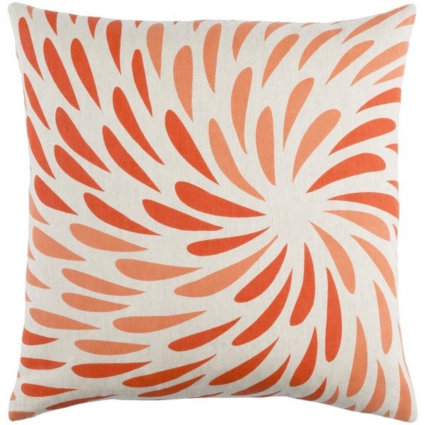 Decorative Pontoise 20-Inch Feather Down or Poly Filled Throw Pillow