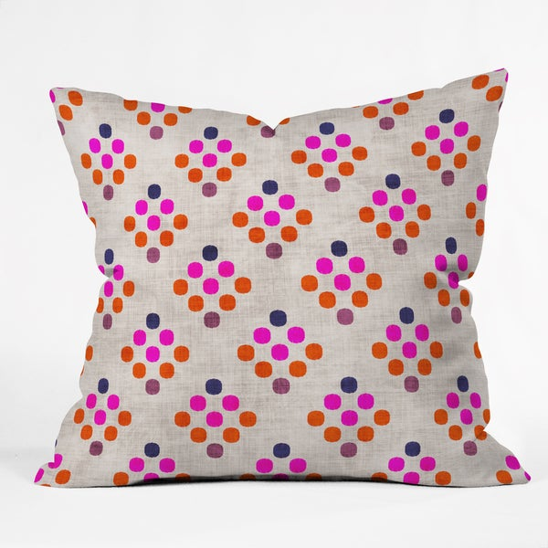 Holli Zollinger Diamond Weave Polyester Throw Pillow