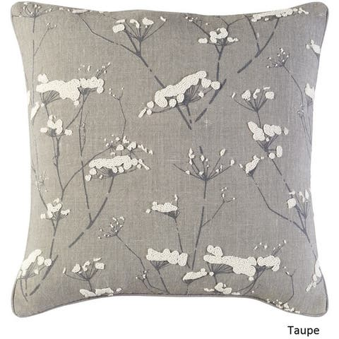 Decorative Pipa 20-Inch Feather Down or Poly Filled Throw Pillow