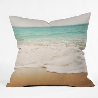 Deny Designs Bree Madden Ombre Beach Woven Polyester Throw Pillow - 3 Sizes Available