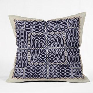 Ballack Art House Greece Multicolor Polyester Throw Pillow in 3 Sizes