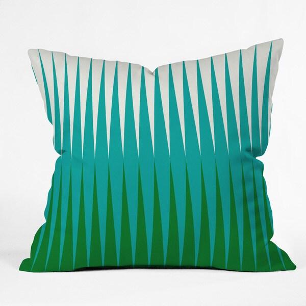 Caroline Okun Clover Multicolor Polyester Throw Pillow