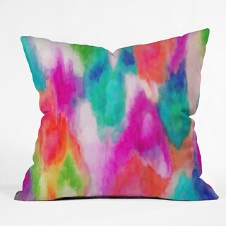 Deny Designs Jacqueline Maldonado Epiphany 2 Multicolor Polyester Throw Pillow
