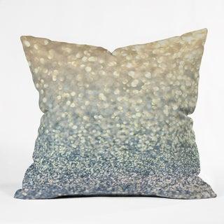 Lisa Argyropoulos Snowfall Polyester Throw Pillow