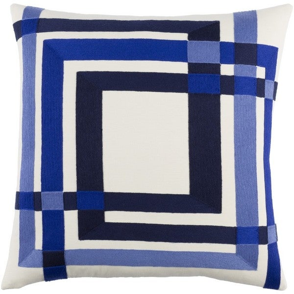 Decorative Peter 20-Inch Down or Poly Filled Throw Pillow