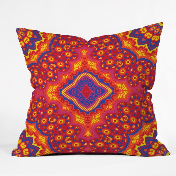Arcturus Zulu Imbenge Multicolor Polyester Throw Pillow