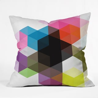 DENY Designs Three Of The Possessed Modele 9 Throw Pillow