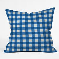 Deny Designs Holli Zollinger Gingham Throw Pillow